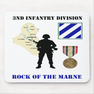 3rd Infantry Division Iraq War Vet Mousepad