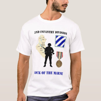 3rd Infantry Division Iraq War Vet Shirt