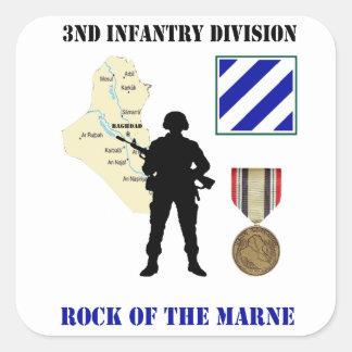3rd Infantry Division Iraq War Vet Stickers