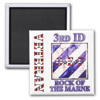 3rd Infantry Division OEF Veteran Refrigerator Magnets