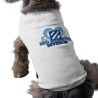 3rd Infantry Division Sleeveless Dog Shirt