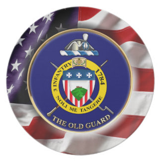 """3rd Infantry Regiment """"The Old Guard"""" Plate"""