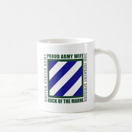 3rd Infantry Wife Basic White Mug