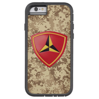 "3rd Marine Division ""Fighting Third"" Marine Camo Tough Xtreme iPhone 6 Case"
