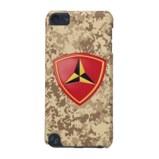 """3rd Marine Division """"Fighting Third"""" Marine Camo iPod Touch 5G Case"""