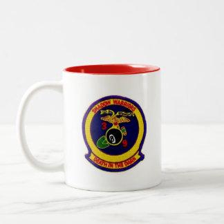 3rd marine division vietnam vet Two-Tone coffee mug