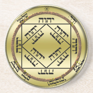 3rd seal of the sun beverage coasters