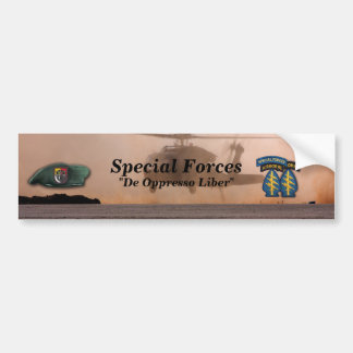 3rd special forces fort bragg Bumper Sticker
