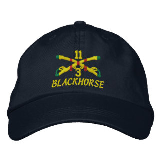 3rd Sqdn 11th Cavalry Embroidered Hat