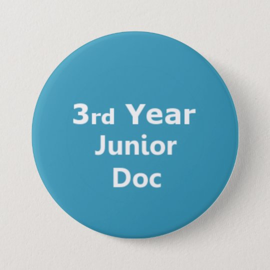 3rd Year Junior Doctor badge