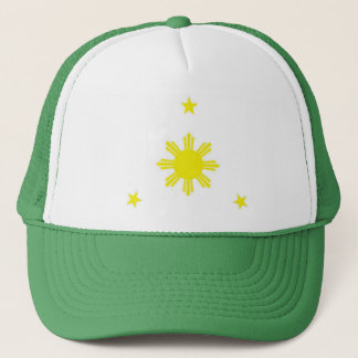 3star with the sun trucker hat