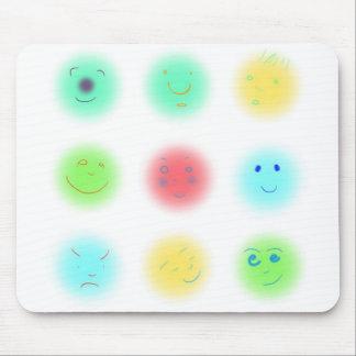 3x3 Little Faces A1 Mouse Pads