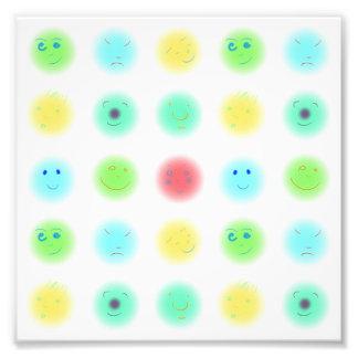 3x3 Little Faces A1 Photo Art