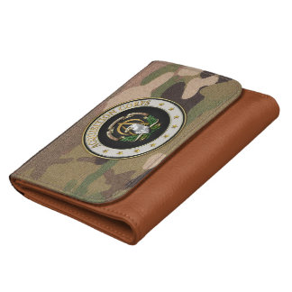 [400] Acquisition Corps (AAC) Branch Insignia [3D] Leather Wallet