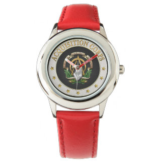 [400] Acquisition Corps (AAC) Branch Insignia [3D] Wrist Watch