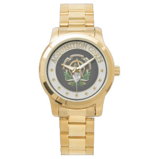 [400] Acquisition Corps (AAC) Branch Insignia [3D] Wrist Watches