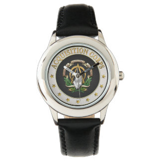 [400] Acquisition Corps (AAC) Branch Insignia [3D] Wristwatch