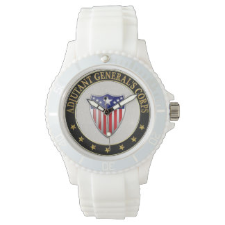 [400] Adjutant General's Corps Branch Insignia [3D Wrist Watches