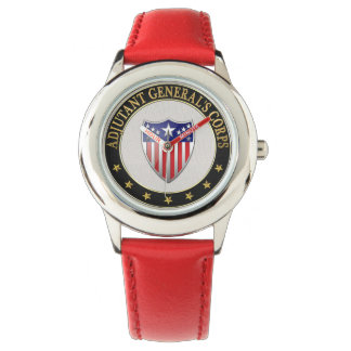 [400] Adjutant General's Corps Branch Insignia [3D Wristwatch