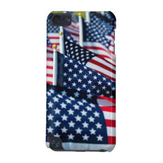 400 flags waving proudly in a field iPod touch 5G case