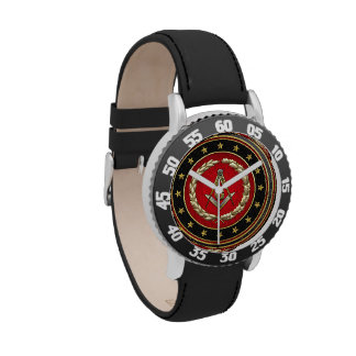 [400] Masonic Square and Compasses [3rd Degree] Wristwatch