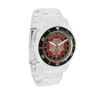 [400] Master Mason - 3rd Degree Square & Compasses Watch