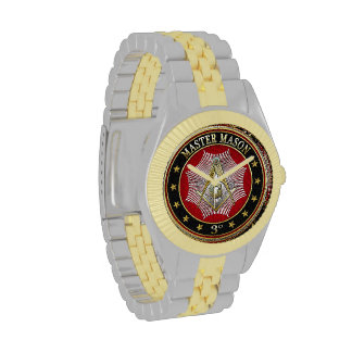 [400] Master Mason - 3rd Degree Square & Compasses Wristwatch
