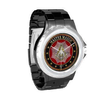 [400] Master Mason - 3rd Degree Square & Compasses Wrist Watch