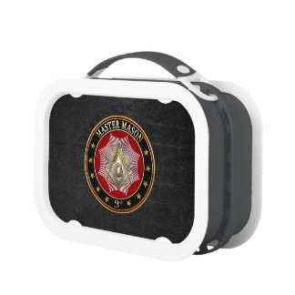 [400] Master Mason - 3rd Degree Square & Compasses Lunch Boxes