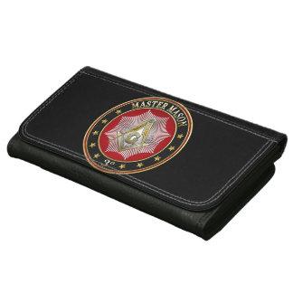 [400] Master Mason - 3rd Degree Square & Compasses Women's Wallets