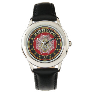 [400] Master Mason - 3rd Degree Square & Compasses Wristwatches