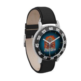 [400] Tibetan Thangka  - Wrathful Deity Hayagriva Wristwatches