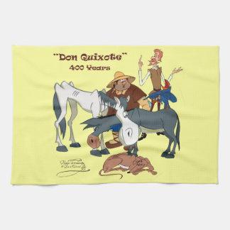 400 Years Don Quixote @QUIXOTEdotTV Tea Towel