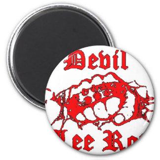 400px-Devil_Lee_Rot_logo 6 Cm Round Magnet