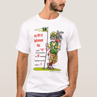 401kgolfer, Copyright  Jim & Don Cabay 2010 T-Shirt