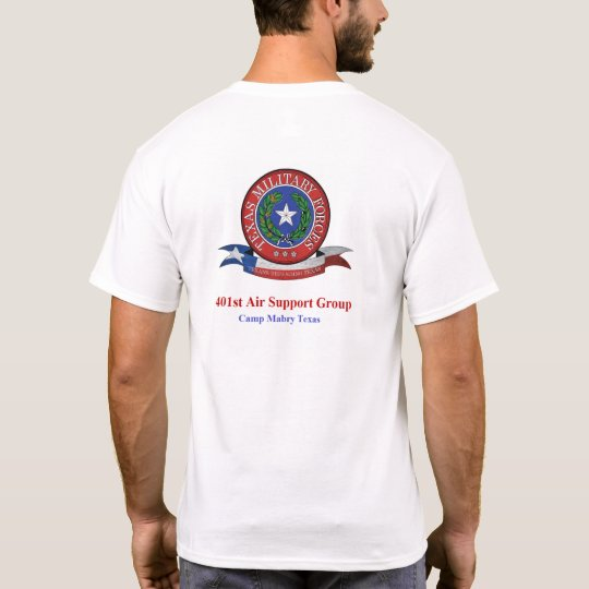 401st ASG Texas Military Forces T-Shirt