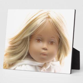 40223 Sasha baby doll Irka photo plate Plaque