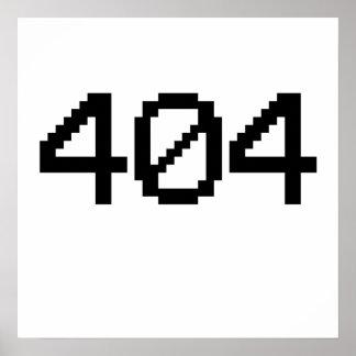 404 error posters
