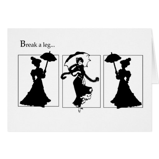 4059 Turn of the Century Ladies Good Luck Cards
