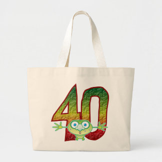 40 Age Ghoul Large Tote Bag