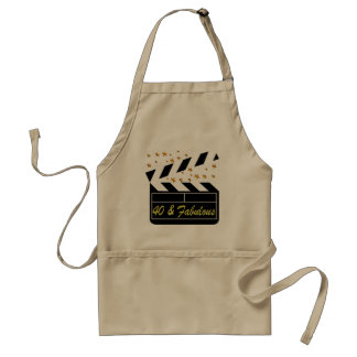 40 AND FABULOUS MOVIE QUEEN STANDARD APRON