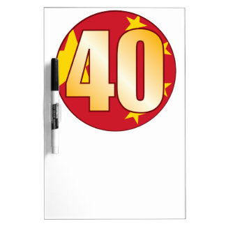 40 CHINA Gold Dry Erase Board