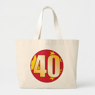 40 CHINA Gold Large Tote Bag