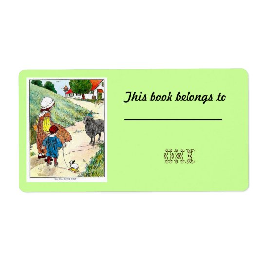 40 Customisable Bookplates /Nameplates