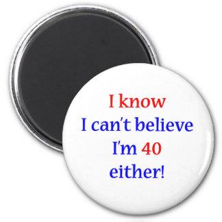 40 Either 6 Cm Round Magnet