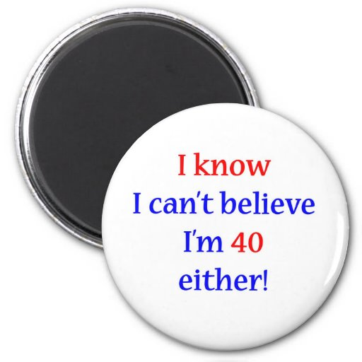 40 Either Fridge Magnets