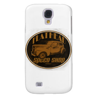 40 Ford Flat Head Speed Shop Galaxy S4 Cases