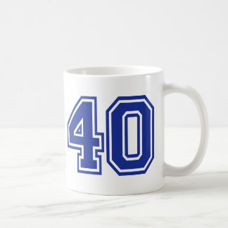 40 - Fourty Mug