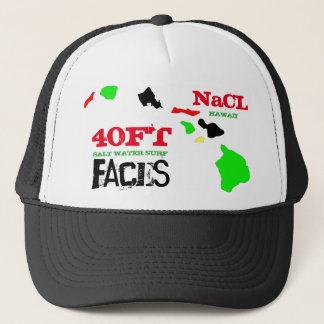 40 FT FACES NaCL SURF HAWAII Trucker Hat