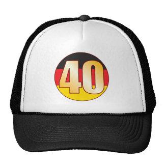 40 GERMANY Gold Cap